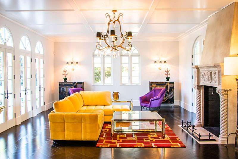 The Silver Fund furnishes a historic Palm Beach home